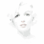Illustration von Marylin Monroe in 13.809 Quadraten nach einem Foto von Bert Stern - The Last Sitting. ©Foto Estate Bert Stewrn - Illustration adapted with permission by Thomas Junglas