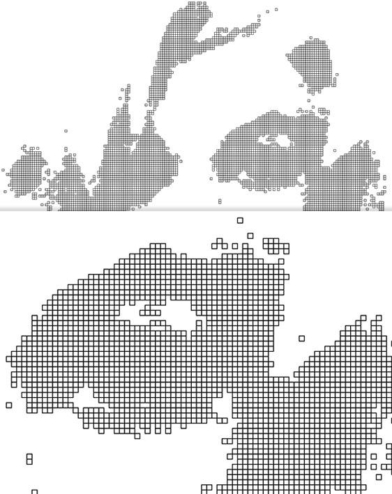 Pixeldartsellung