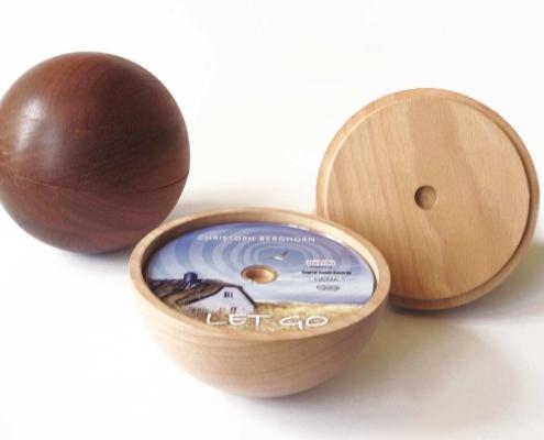 Designkugel als CD-Cover
