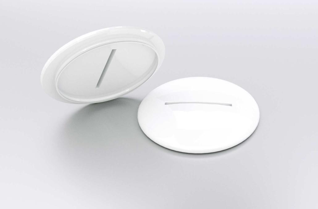Tassendeckel mit Schlitz für Teebeutel