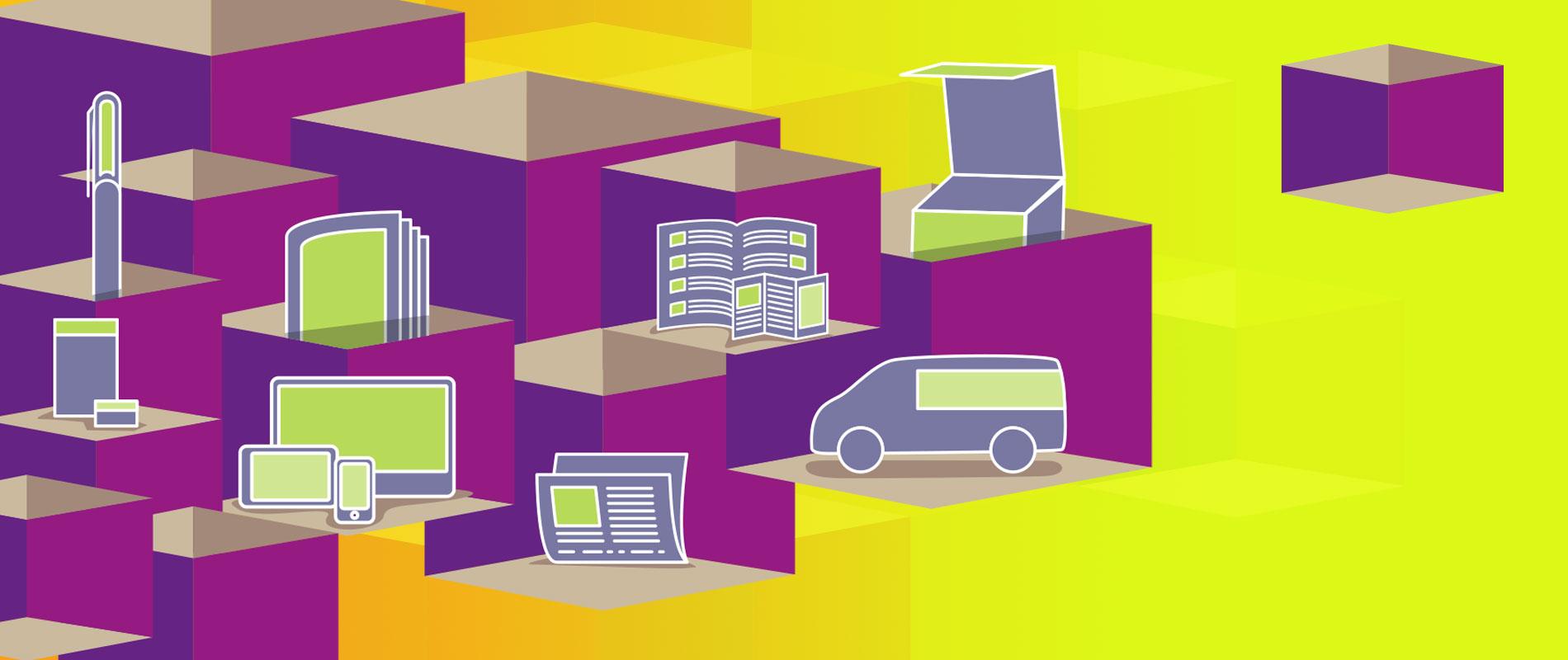 Werbeagentur und Grafikatelier Thomas Junglas. Grafische Darstellung des Dienstleistungsportfolios Design und Werbung mit den Medien Webdesign, Prospekte, Anzeigen, Verpackungsdesign, Fahrzeugbeschriftung, Verkaufsförderung.