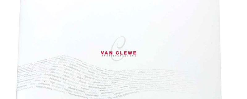 Vorschaubild Imagebroschüre van Clewe